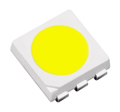 50 X Bianco Puro 5050 SMD PLCC 6 LED 5000mcd
