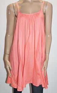 SUPRE-Brand-Coral-Strappy-Swing-Mini-Jenny-Dress-Size-XS-BNWT-SS34
