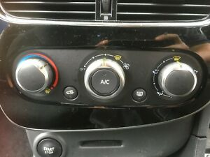 RENAULT-CLIO-IV-MK4-HEATER-CONTROLS-2018-MODEL-272703128R-AIR-CON-EDITION