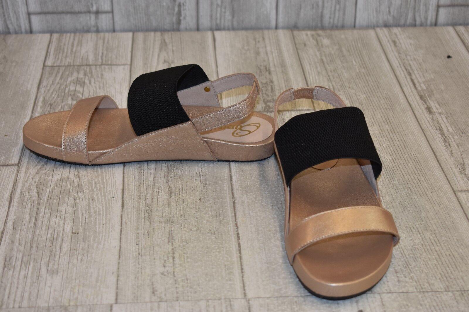 Sudini Hailey Sandal - Women's Size 7.5 M, Sand Sand Sand Metallic 219b76