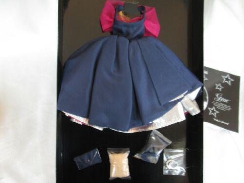 Gene Doll PINK LIGHTNING Blue Dress Outfit  Ashton-Drake Collection NRFB