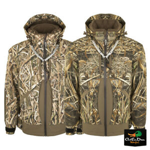 34b3ea0036392 Image is loading DRAKE-WATERFOWL-GUARDIAN-ELITE -LAYOUT-BLIND-JACKET-INSULATED-