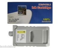 Pfi-704 Yellow 700ml Ink Cartridge Compatible For Canon Printer Ipf 8300s 8300