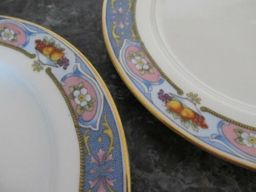 """CROWN IMPERIAL CLEMENTINE TWO SALAD PLATES 8/"""""""