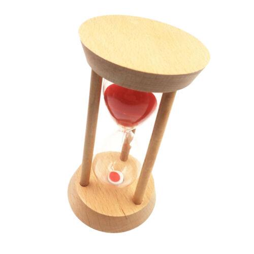 Home Decoration Wood Hourglass Sandglass Sand Timer Clock Ornament 20 Min