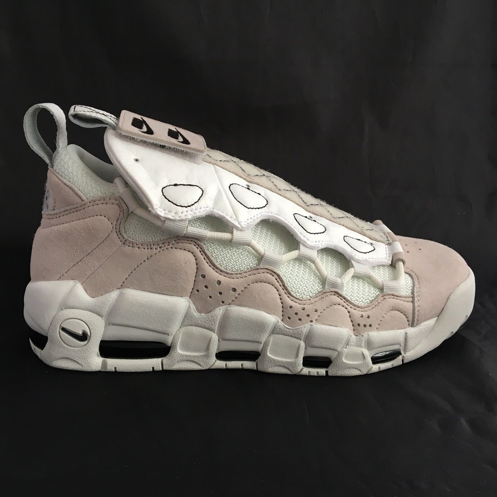 Nike Air More Money AS QS All Star 90/10 Vast Gris blanc AQ0112-001 hommes
