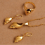 Traditional-Papua-New-Guinea-PNG-Creole-Necklace-Earrings-Ring-Shell-Snail-Set thumbnail 3