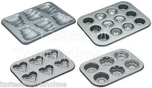 Kitchen-Craft-Non-Stick-Novelty-Cup-Cake-Muffin-Cake-Baking-Sheet-Pan-Trays