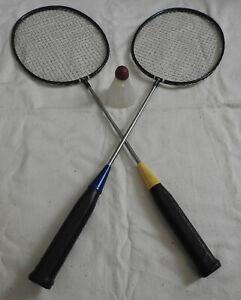 Vintage-Soviet-badminton-racquet-racket-Meteor-USSR