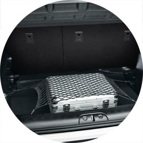 Auto Kofferraumnetz Gepäcknetz Trennnetz Nylon Elastisch mit Haken 65x75cm