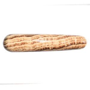 Aragonite-Round-3-8-034-Wand-Reflexology-Massage-Crystal-Healing-Chakra-100g