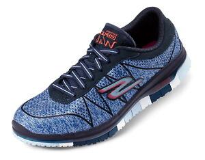 Skechers Damen Go Flex Schuhe Sneaker Freizeitschuhe Laufschuhe Turnschuhe blau