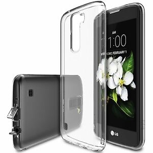 low priced b6d7e 24a97 Details about For LG K7 Cases | Ringke AIR Clear Thinnest Scratch  Resistance Protective Case