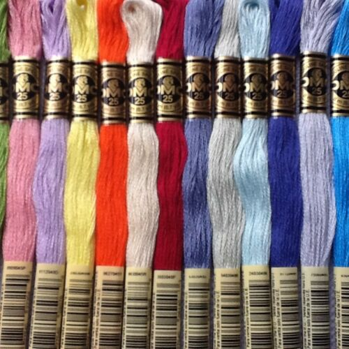 DMC CROSS STITCH THREADS//SKEINS 831-931 PP FREE PICK YOUR OWN COLOURS