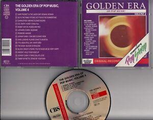 GOLDEN-ERA-OF-POP-MUSIC-VOL-4-CD-MEMORY-POPSHOP-Charlie-Rich-Gary-Puckett-Argent