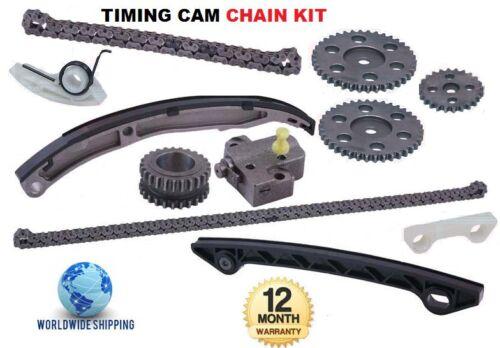 Per MAZDA 6 1.8 2.0 GG GY 2002-2007 Nuovo cam TIMING chain Kit Completo OE