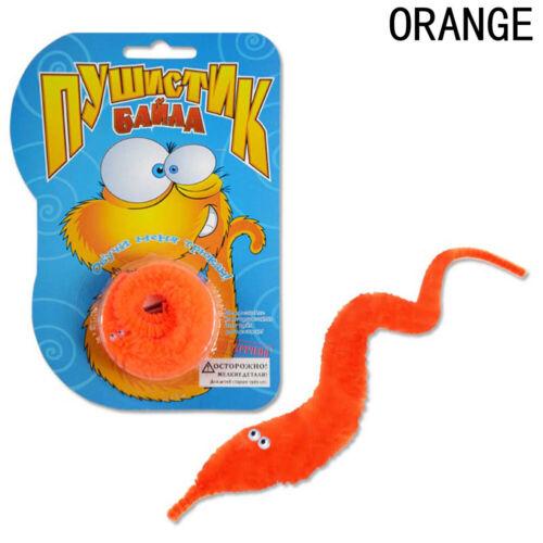 2Stk Twisty Fuzzy Wurm Wackeln Moving Kinder Trick Spielzeug Praktisch