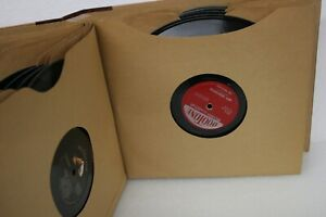VINTAGE-1950-039-S-TOP-ARTISTS-TOP-HITS-RECORD-ALBUMS-12-VINYLS-9-3-4-034-ROUND