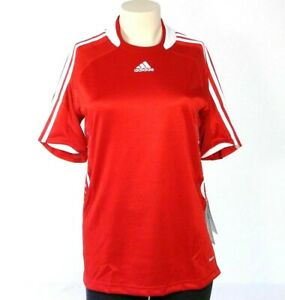 Details about Adidas ClimaCool Formotion Red & White Soccer Jersey Women's Small S NWT