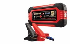 Lithium Ion Jump Starter  Power Pack Portable Compact Back Up Fuel Pack Battery