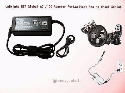 AC Adapter For Logitech Racing Wheel G27 G25 G940 Flight System Power Supply New