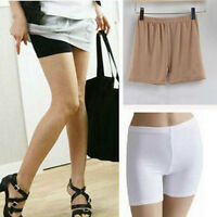 Women Yoga Sports Seamless Safety Shorts Solid Pants Casual Trouser Short Pants