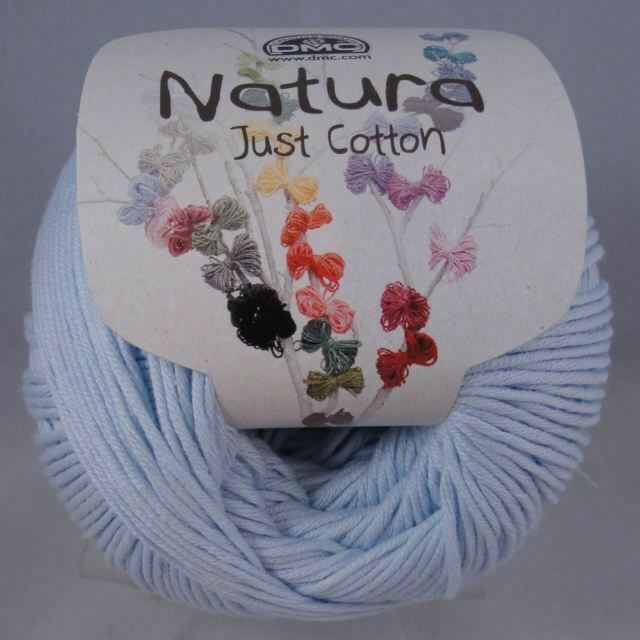 0005 Various Dye Lots Bleu Layette 50g Balls DMC Natura Just Cotton 4ply