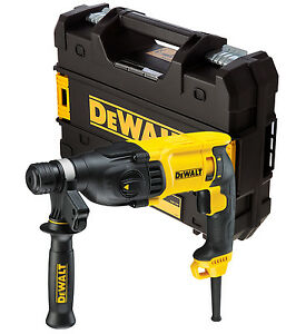 Rotary Hammer Drill 800W 110V Dewalt D25133K 2kg 3 Mode 26mm SDS