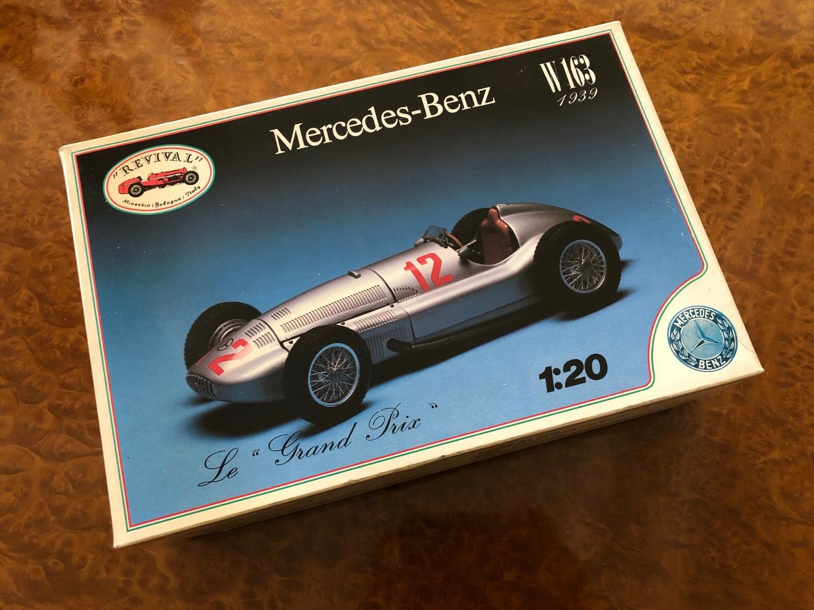 Vintage Revival F1 Kit 1 20 1939 Mercedes-Benz W163 Grand Prix