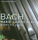 J.S. Bach: Complete Works for Organ [Digital Recording] (CD, May-2011, 14 Discs, Erato (USA))