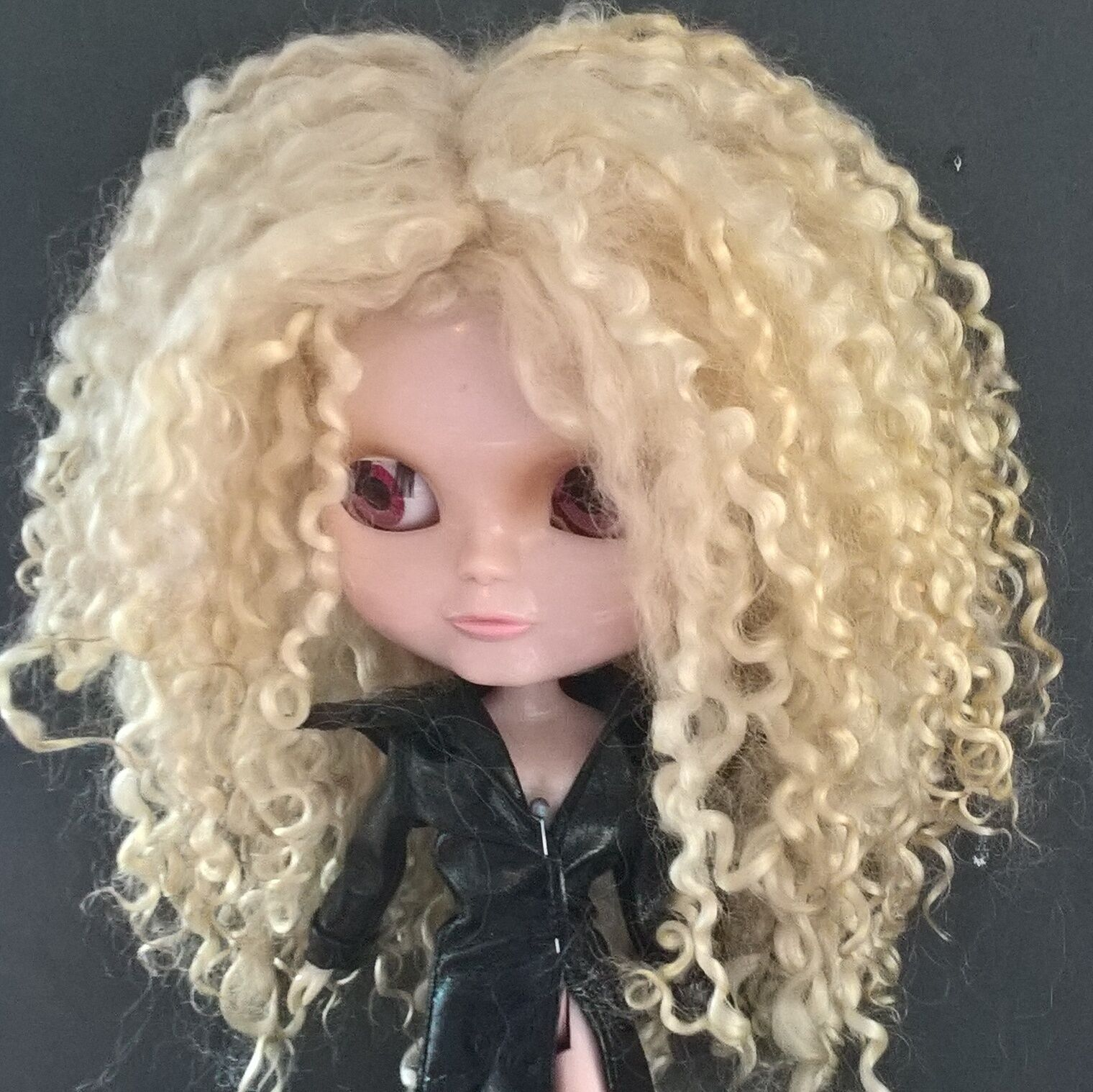 Teeswater Doll Wig Light Blonde
