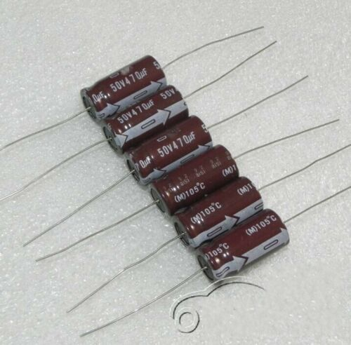 50V470uf Axial Aluminum electrolytic capacitors Electronic Components