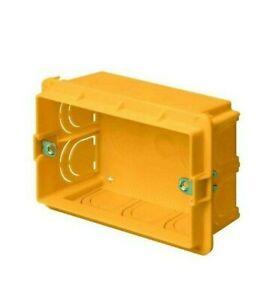 elettrocanali ECL99TP supporto 3 moduli per scatola rettangolare compatibile Bti