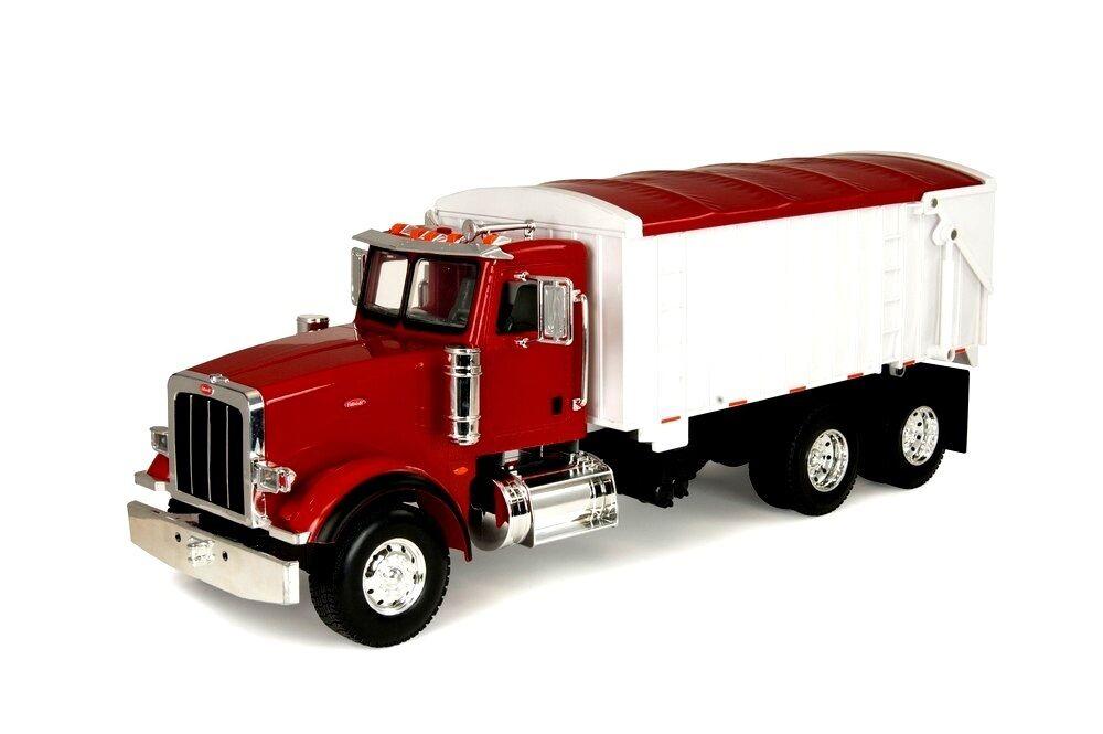ERTL 1 16 Big  Farm Toy Peterbilt 367 camion avec grain Box  pratique