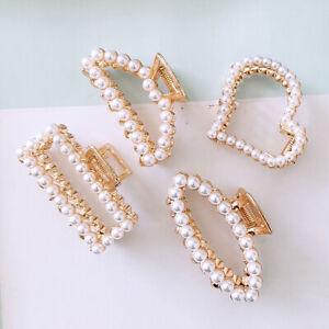 Women/'s Crystal Hair Claws Clips Hairpin Clamp Flower Hair Pins Accessories