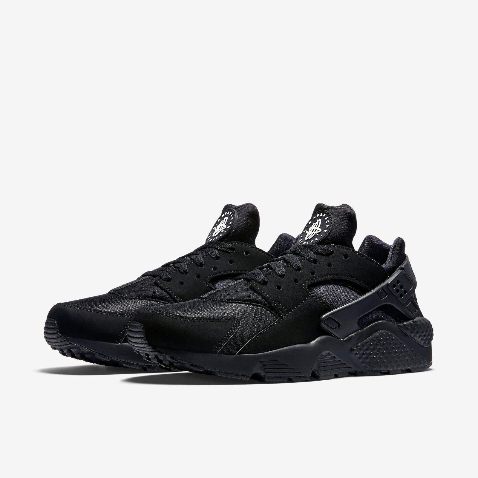Nike Air Huarache Triple Black Mens US Sizes 11.5 [318429-003]