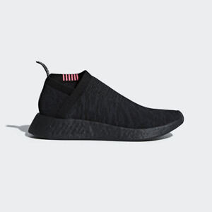 711639a5f09fd Adidas Originals NMD CS 2 Primeknit Black Boost City Sock Pink Slip ...
