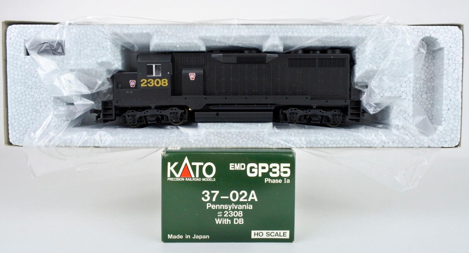 Kato HO escala 37-02 A Pennsylvania EMD GP-35 pahase ia Diesel motor con Dragonball  2308