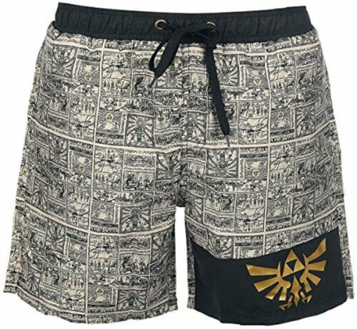 Costume da bagno Legend of Zelda Water Temple Wanderer Swimshorts Uomo Bioworld
