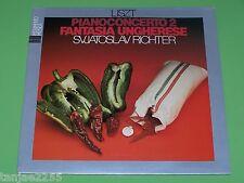 Liszt - Richter - Piano Concerto No.2 / Fantasia Ungherese - Movimento Italy LP