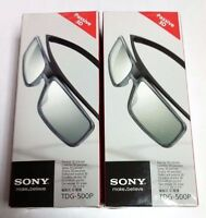 2x (pair) - Genuine Sony Tdg-500p Passive 3d Glasses Tgd500p