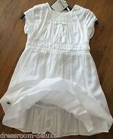 NEU JoTTuM SHAPE feines Sommerkleid Kleid weiß 116 6Y LP149€ dress robe jurk