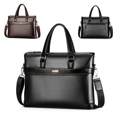 New Men Briefcase Fashion Business Shoulder Bag Gentleman Handbag Laptop Totes