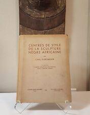 Tribal Exotics African Art book - Kjersmeier 1938 Mask Figure Sculpture Statue