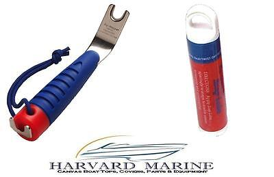 Top-Snapper Stainless Canvas Snap Tool Works Great for Boat Covers /& Enclosures