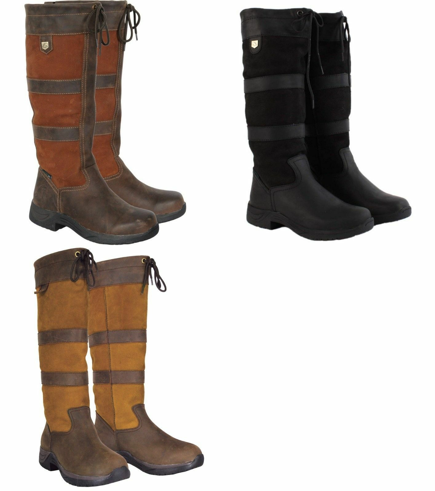 DUBLIN RIVER BOOTS RIDING YARD STABLE WALKING LEATHER COUNTRY