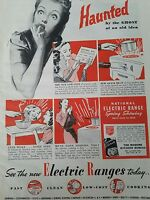 1938 vintage electric range stove haunted by the ghost ad