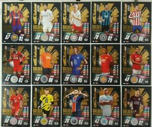 2020/21 Match Attax UEFA Soccer Cards - Choose Special Shiny Foil Sub Set