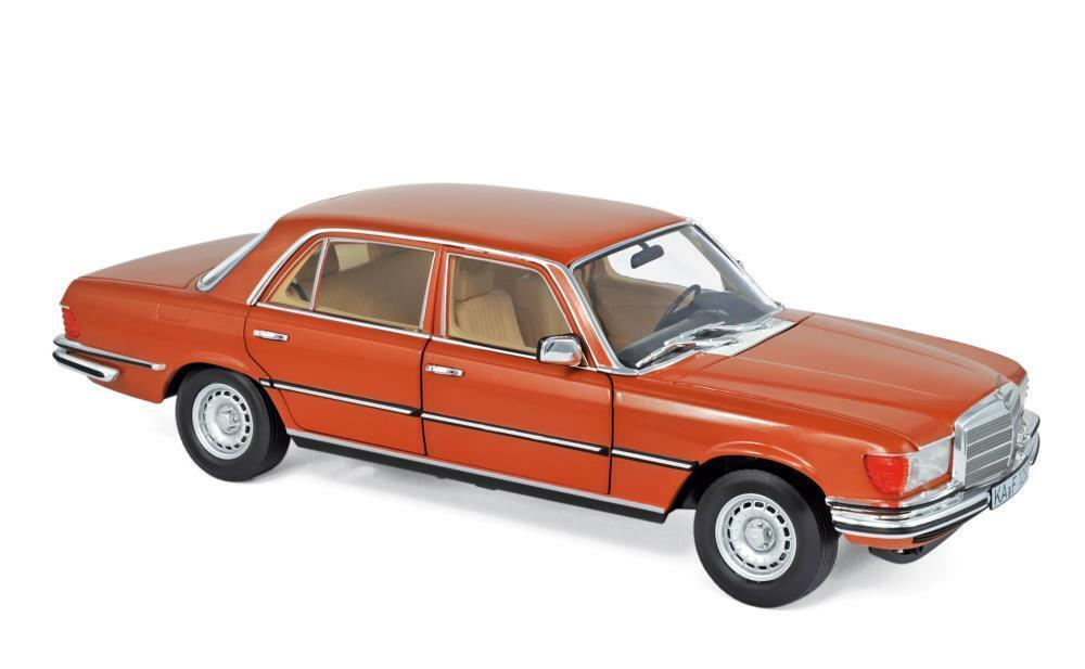 Norev 183459 Mercedes-Benz 450 SEL 6.9 1976 - Inca orange metallic