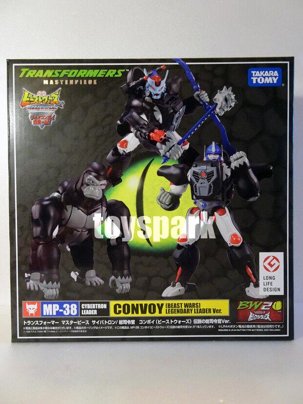 TAKARA Transformers Masterpiece MP-38 Beast Wars Noir et Blanc Optimus  Primal Action Figure  jusqu'à 65% de réduction